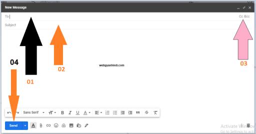 किसी को ईमेल कैसे भेजें | Email kaise karen