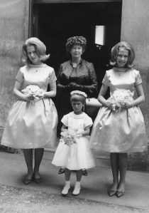 Lee at June's wedding with Jan and Suzy