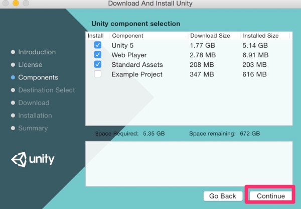 Download And Install Unity2