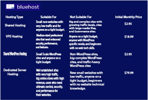 bluehost pricing guide