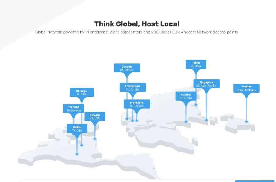 fastcomet data server location