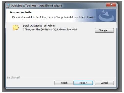 Download Quickbooks tools hub 2