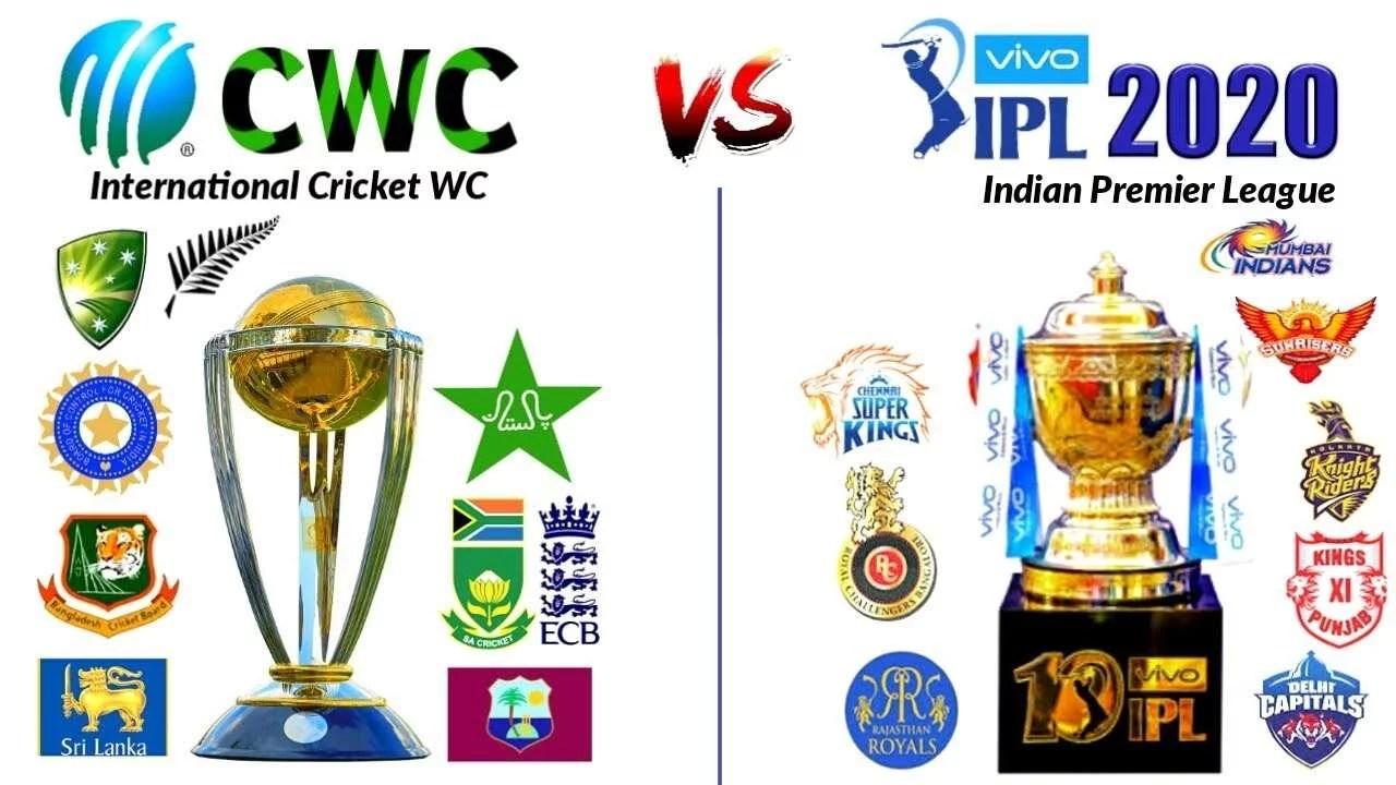 world cup vs IPL