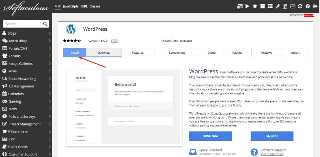2-install-wordpress-di-hosting-menggunakan-softaculous