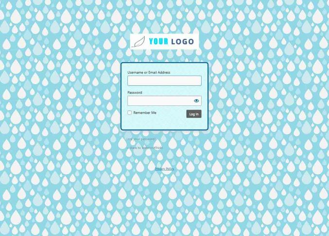New WordPress Login Page