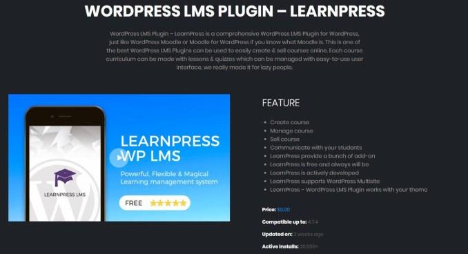 LearnPress - LMS WordPress Plugins