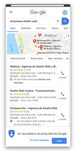 Seo local para moviles con google my business