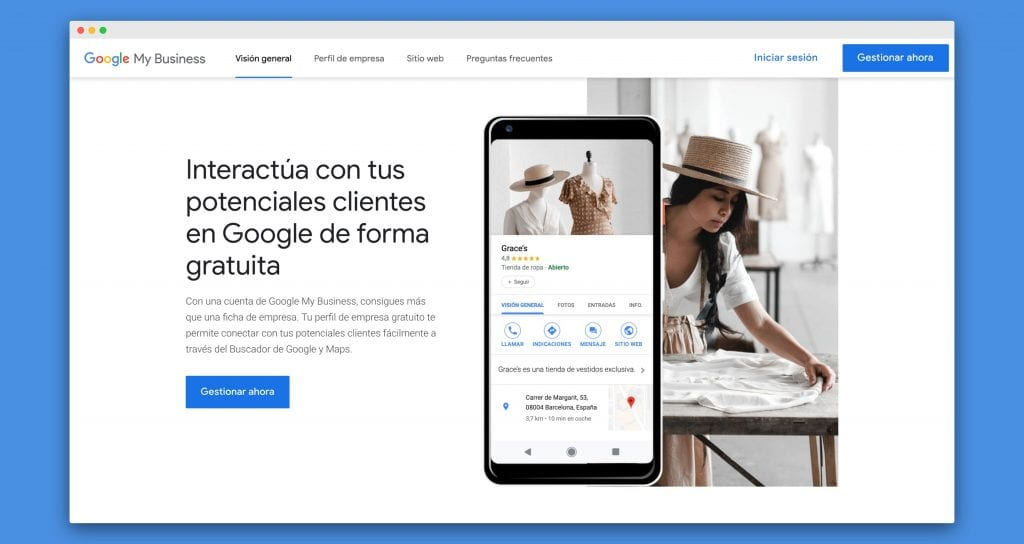 Optimizar tu seo local con google my business