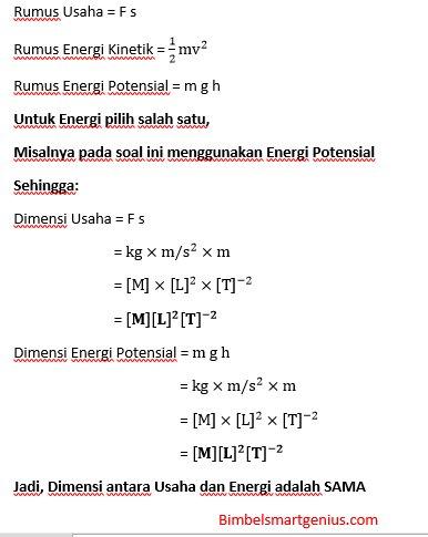 Dimensi Energi Potensial : dimensi, energi, potensial, Rumus, Dimensi, Energi, Kinetik, Adalah, Edukasi.Lif.co.id