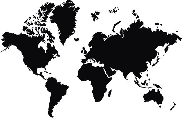 World Map In PNG Web Icons PNG