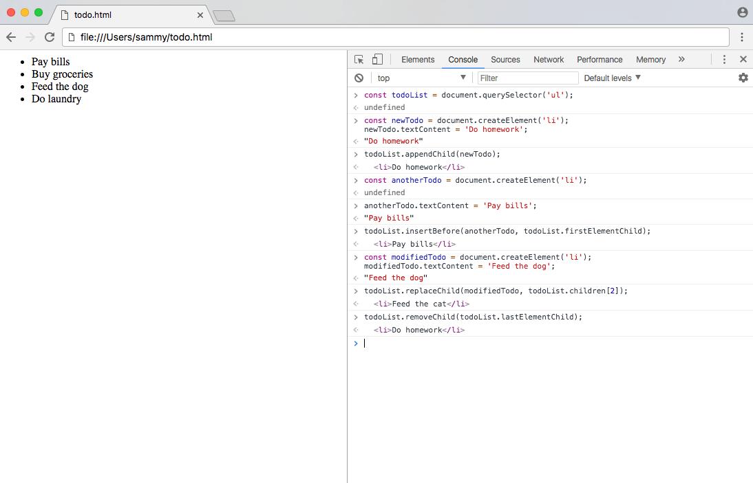 DOM Screenshot 5