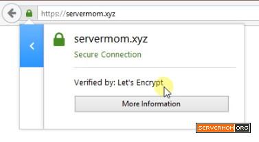 lets encrypt ssl on firefox