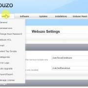 webuzo settings