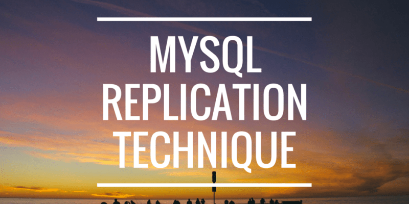 MySQL Master - Slave Replication Tutorial for Newbie