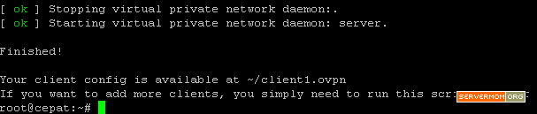 ovpn-installer-script-done