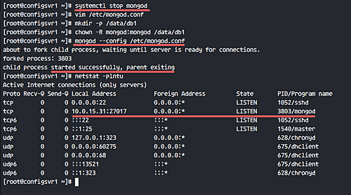 Create Config Server Replica Set