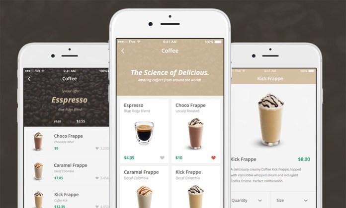 coffee shop ios kit