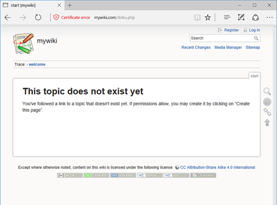Just how to Install DokuWiki with Apache on Debian 9 21