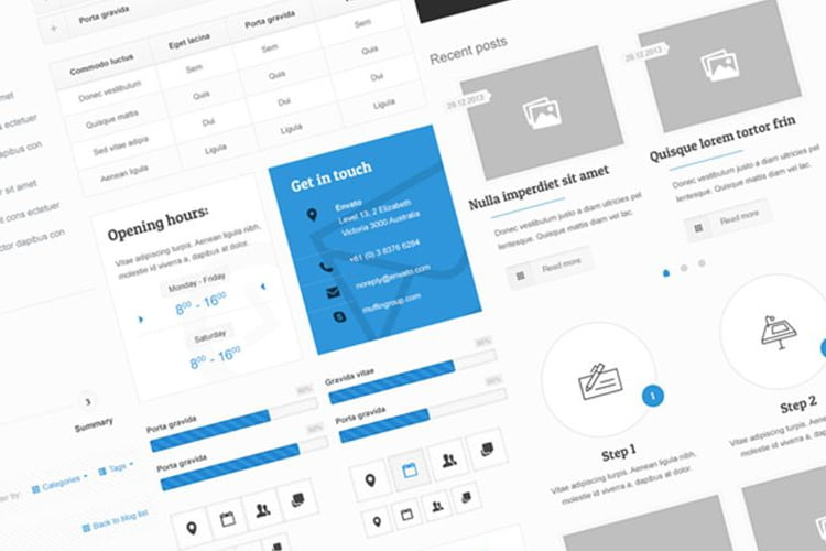 10 Complimentary Wireframe Kits To speed your design Workflow up ...