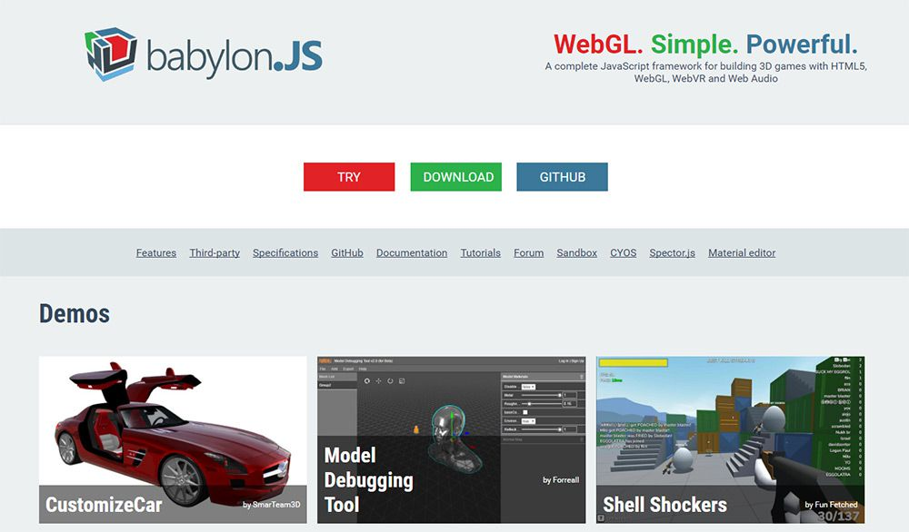 The High 3D JavaScript Libraries For Web Builders | Webilicious