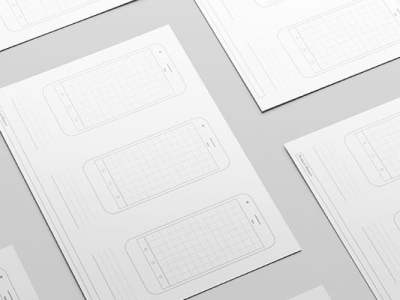 Collection of Free Printable UI/UX Templates