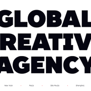 Web Design Trend: Big and Bold Typography