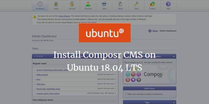 Install Composr CMS on Ubuntu 18.04 LTS