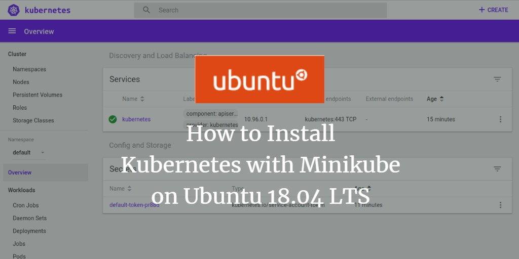 Easy methods to Set up Kubernetes with Minikube on Ubuntu 18 04 LTS