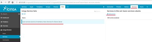 Created ServicesSet
