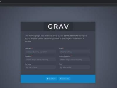 How to Install Grav CMS with Nginx on Debian 9