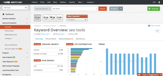 SEO is easy: Top 20 Tools for your Business 26