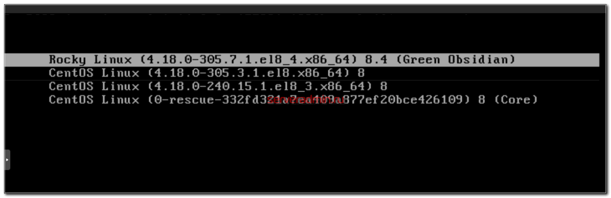 RockyLinux kernel