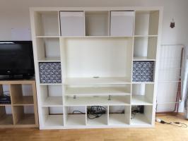 Ikea Expedit Regal / Fernsehschrank weiß in 53340 ...