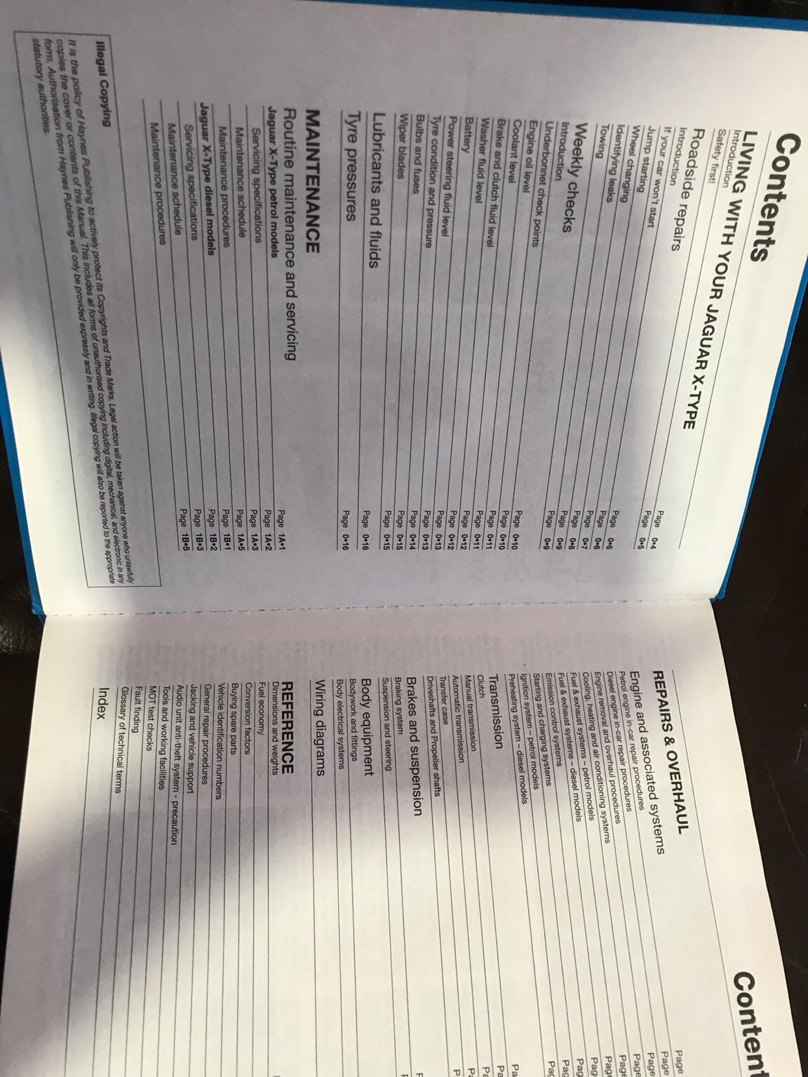 hight resolution of haynes workshop manual jaguar x type in b98 redditch for 15 00 for sale shpock