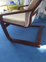 Sessel Ikea Stuhl weiß Holz super Poäng in 31226 Peine für ...