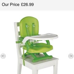 Mothercare Travel High Chair Booster Seat Aeron Spare Parts Uk Folding In S42 Derbyshire For Description Excellent Condition The