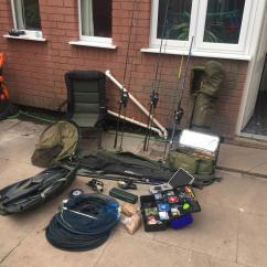 Fishing Chair Setup Rattan Swing Full Carp Gear With Bivvy In Wv14 Bilston For