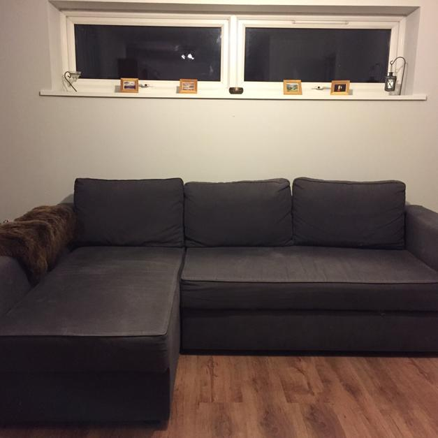 manstad sofa bed royal furniture set suppliers in dubai ikea corner with storage ne4 tyne for 150 00 description