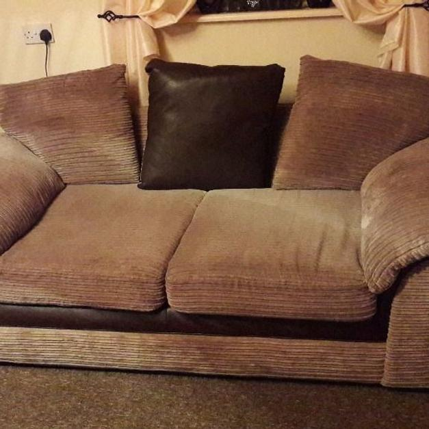 dfs sofas sofa cover fabric in pune matching both 3 seaters m28 worsley for 250 shpock description selling these