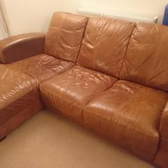 Leather Sofas Dfs Fleas In Sofa Caesar Tan R Hand Chaise Dy8 Dudley For 300 Description