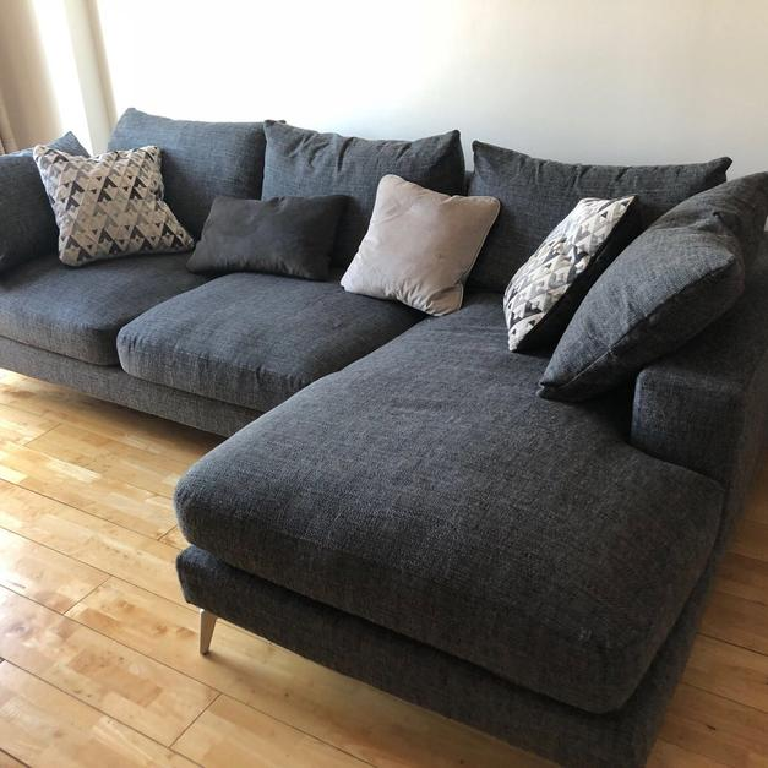 sofa w chaise neo 3 seater sofology cedar in ec1v islington for 900 description