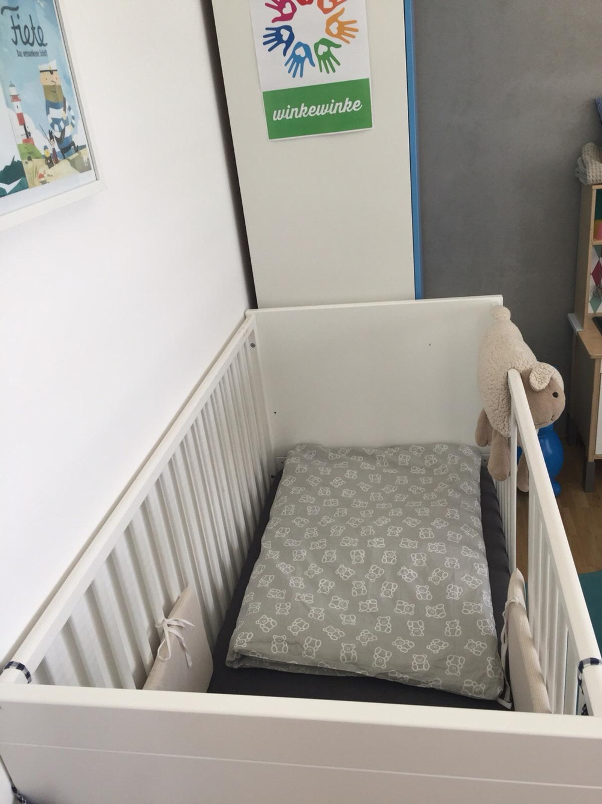 Mini Meise Mini Meise Babybett Mit Wiegefunktion 70x140 In 42553 Velbert For €100.00 For Sale | Shpock