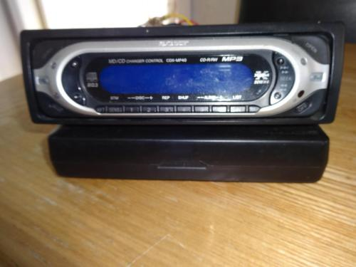 small resolution of sony cdx mp40 car stereo