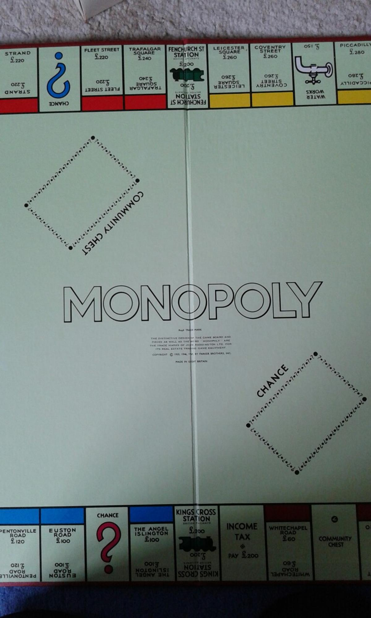 hight resolution of description monopoly board game