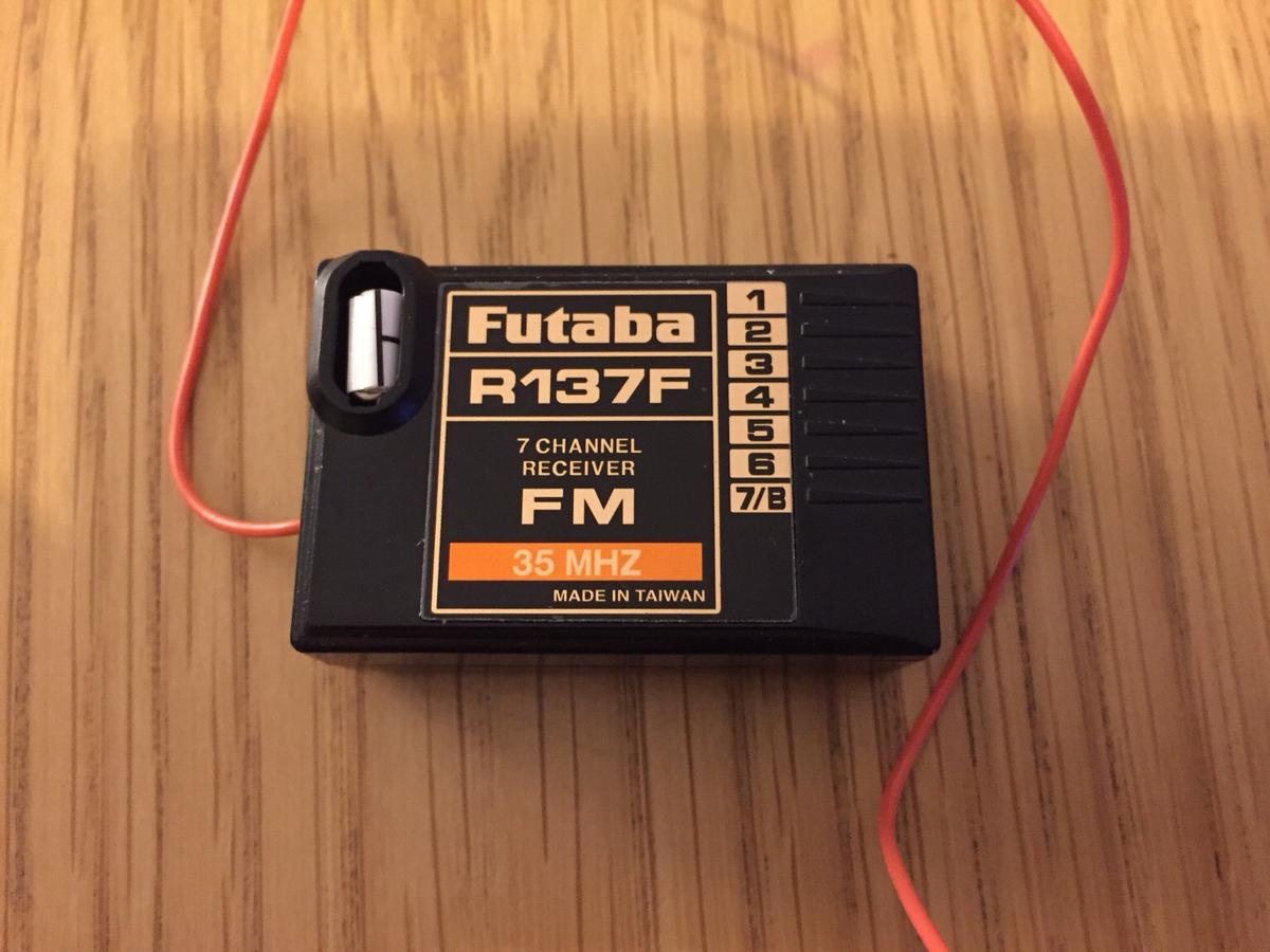 hight resolution of rc plane transmitter futaba t7cp