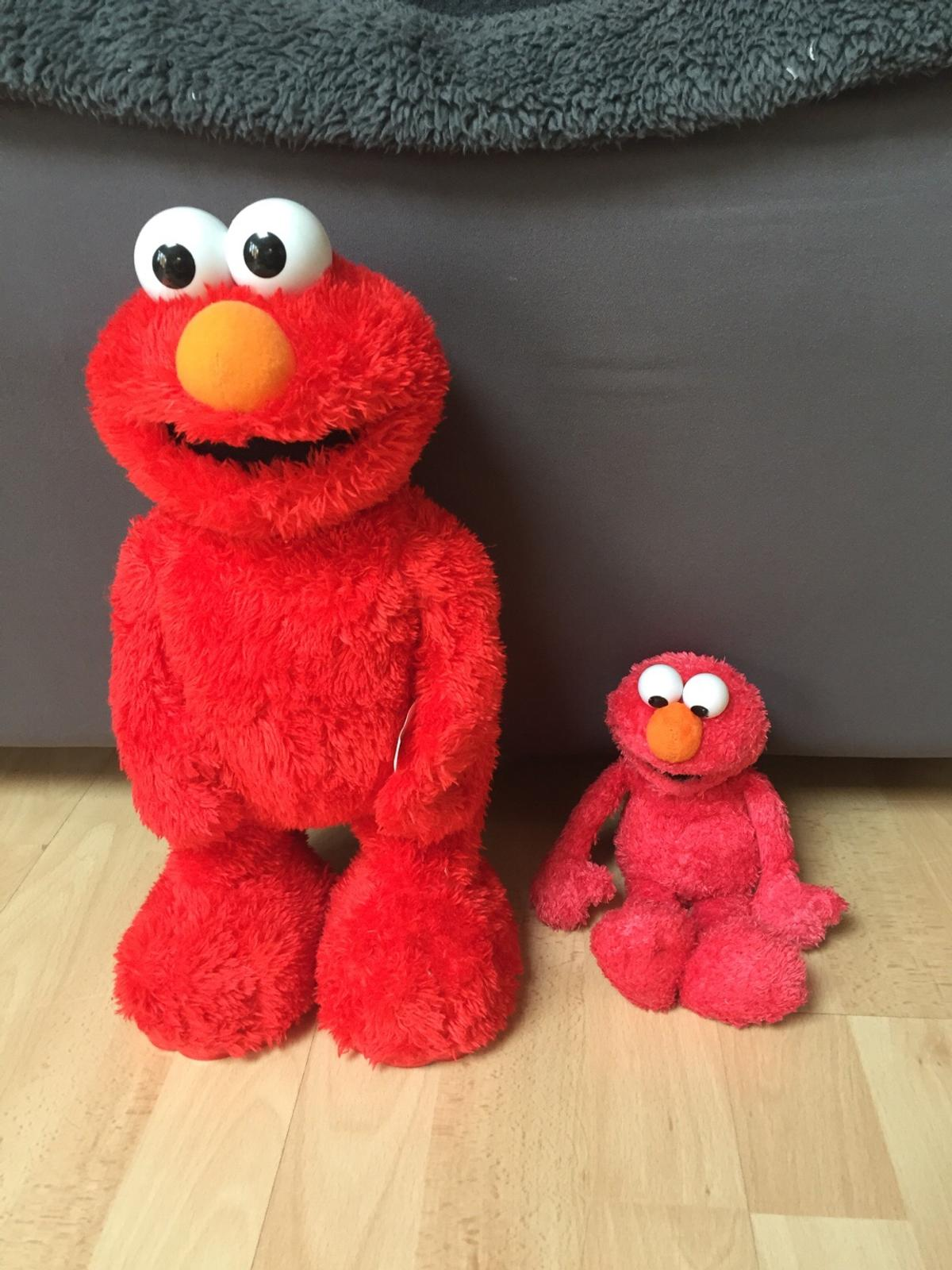 elmo toy and soft