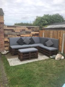 Garden Furniture Pallet Seating Lounge In L30 Sefton