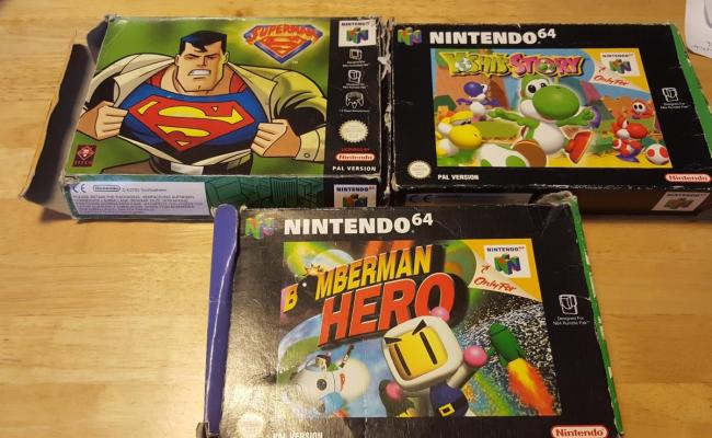 Nintendo 64 Games Prices Vary In Rotherham For 12 345