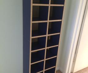 Ikea Billy Cd Dvd Rack And Bookcase Dark Blue In Ox29 Oxfordshire For 10 00 For Sale Shpock