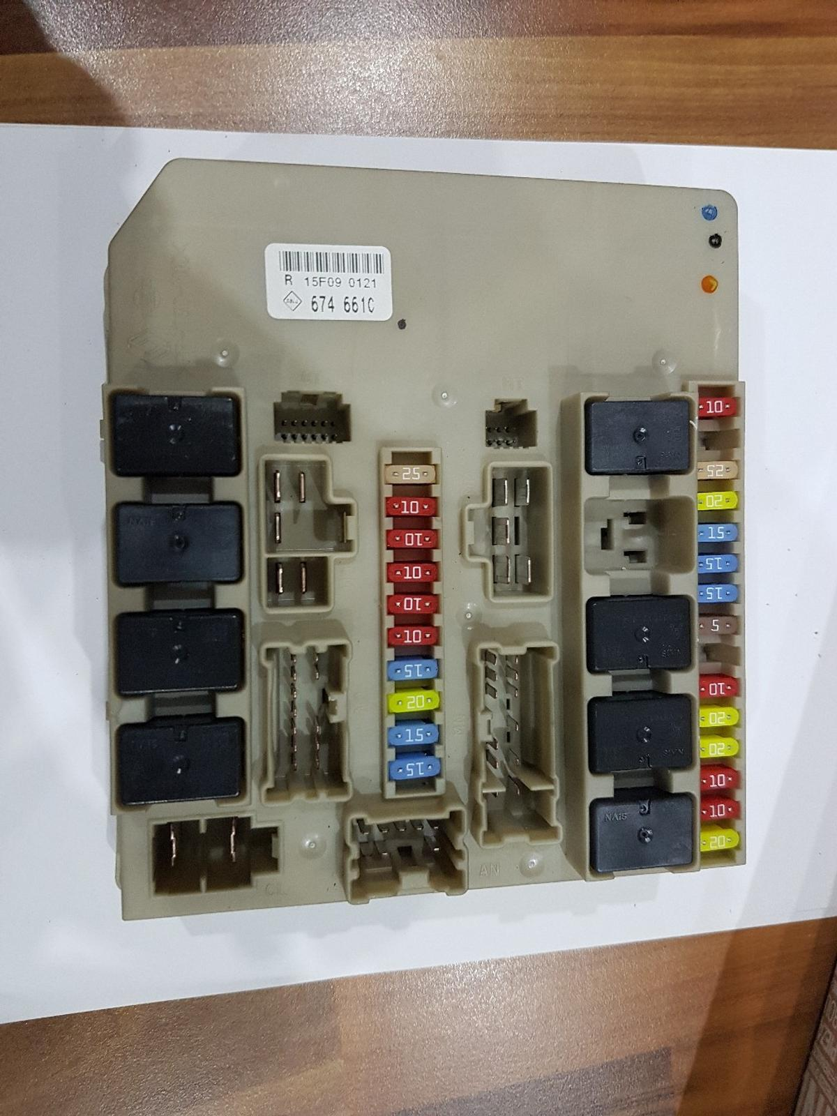 hight resolution of renault clio fuse box 82 00 674 661